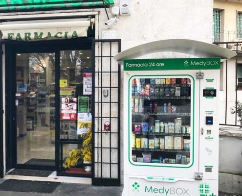 distributore automatico medio