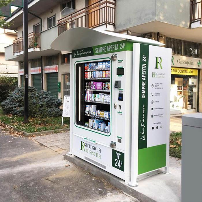 distributore farmacia personalizzato